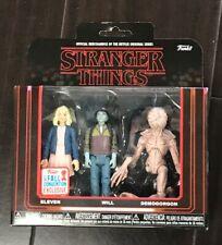 Stranger Things Demogorgon Eleven Funko NYCC 2017-3-pack Will