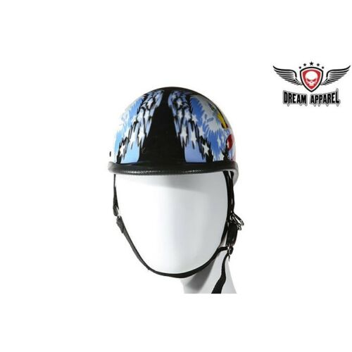 Jockey Novelty Helmet With Double Eagle Graphic Free Shipping