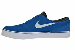 Nike ZOOM STEFAN JANOSKI Military Blue White Anthracite Black (405) Men's Shoes