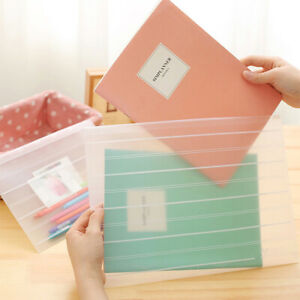 Am-Waterproof-Document-Bag-A4-Matte-File-Pouch-Case-Storage-Office-Supply-Newes