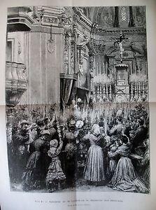 NICE-CATHEDRALE-DIMANCHE-DES-RAMEAUX-CANAL-DE-PANAMA-PORT-DE-COLON-GRAVURES-1884