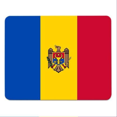 """Mousepad /""""Moldawien/"""" Landesflagge Fahne Republik Moldau Moldova"""