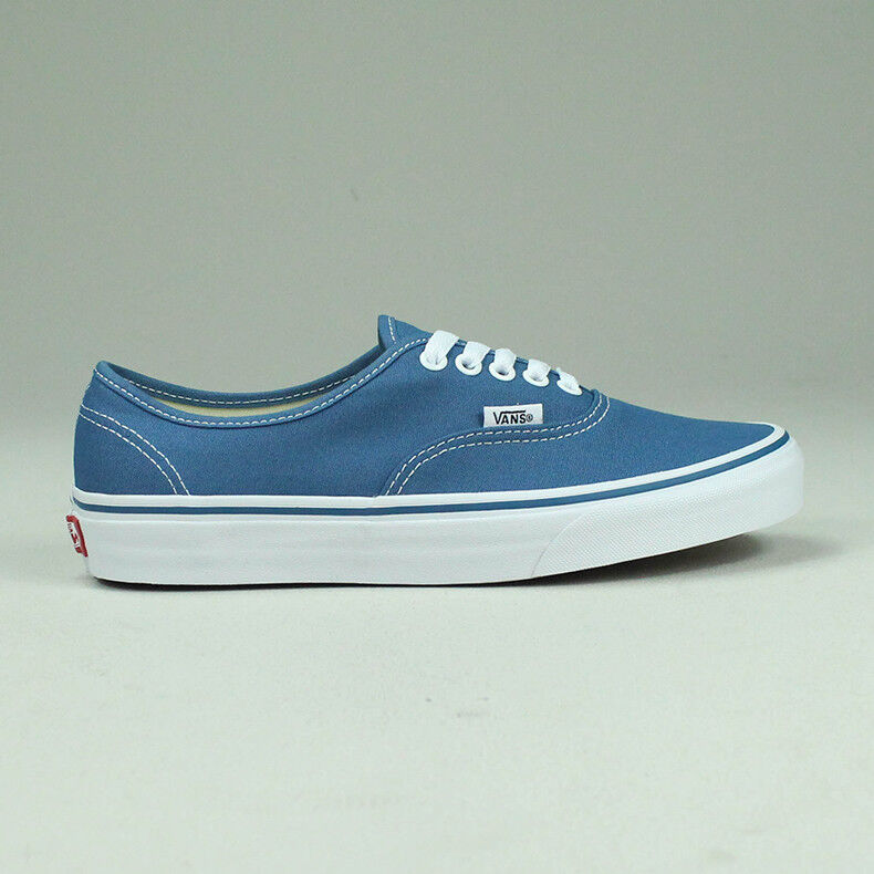 Vans Authentic Trainers Navy bluee Brand New in box UK Sizes 4,5,6,7,8,9,10,11