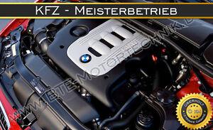 BMW-E90-E91-E92-335D-210KW-286PS-M57-M57D30TU2-MOTORUBERHOLUNG-REPARATUR