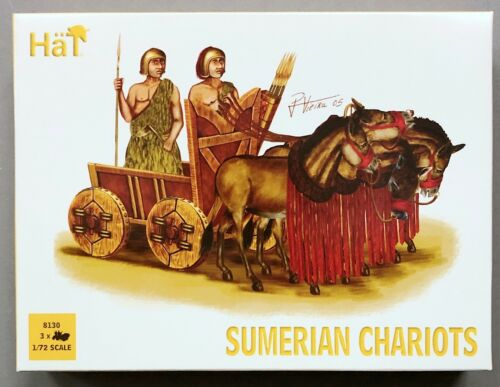 Hät 8130 Sumerian Chariots Militär Figuren Modellbau 1//72 V-195