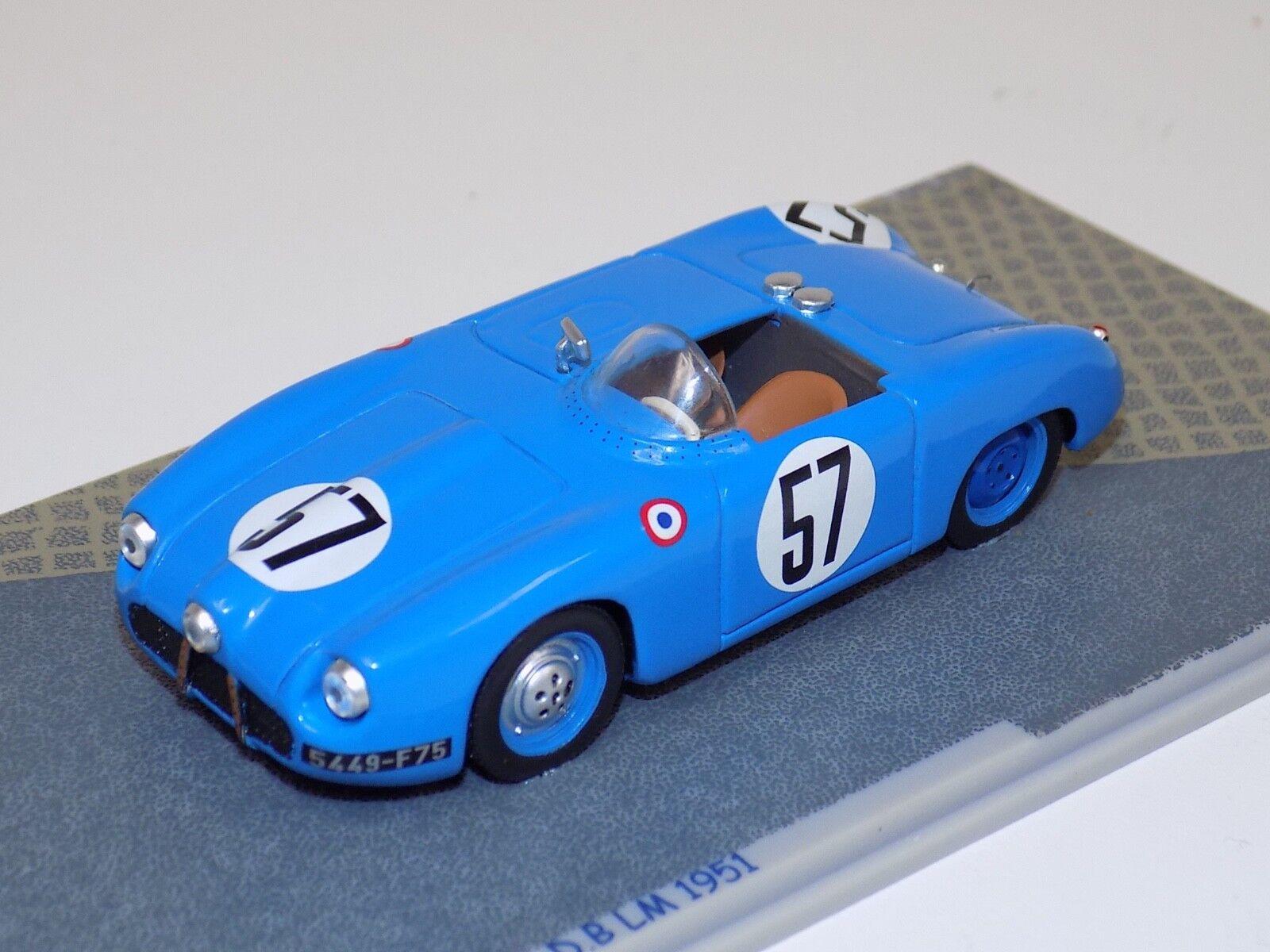 1 43 Bizarre.D.B. Auto;57 1951 24 ore di Leuomos BZ074