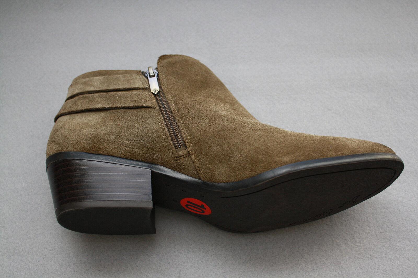 Sam Edelman Petal Stiefelies Suede in Ankle Stiefel in Suede Olive Grün Sz 10 NEW 73bd3a