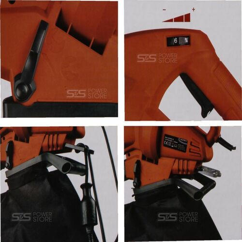Matrix Elektro-Laubsauger EGV 2500-3 Laubbläser Häcksler Fangsack Gurt 2500 Watt
