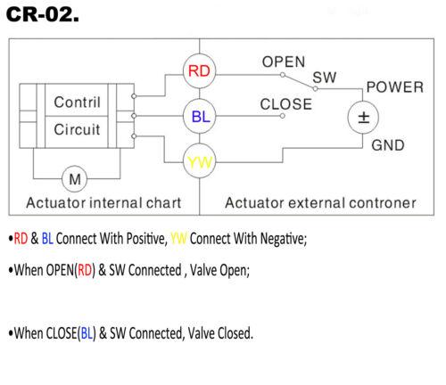 """HSH-Flo 1//2/"""" DN15 12V//24VDC SS304 Motorized Ball Valve,F.B Electrical Ball Valve"""