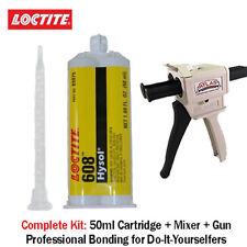 Loctite Ea Hysol 608 Clear 5 Min General Purpose Epoxy 50mldispenser