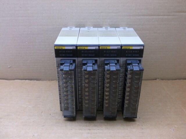 OMRON 24VDC 1.0A//POINT 4.0A//UNIT OUTPUT UNIT C200H-OD21A