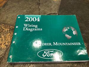 2004 Ford Explorer Mercury Mountaineer Wiring Diagrams ...