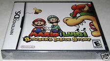 Mario & Luigi: Bowser's Inside Story (Nintendo DS) ..Brand NEW!! y-folds!