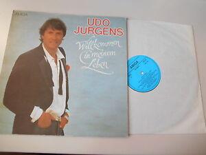 LP-Pop-Udo-Juergens-Willkommen-in-meinem-Leben-13-Song-AMIGA