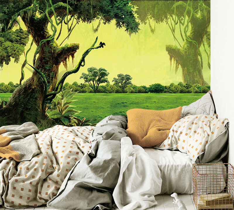 3D Tree Lawn 48 Wallpaper Murals Wall Print Wallpaper Mural AJ WALL AU Kyra