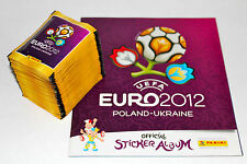 Panini EM Euro 2012 – 100 Tüten packets + Leeralbum album INTERNATIONAL VERSION