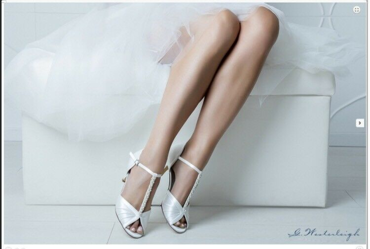 Bridal shoes 2019 New Models Signed Comfortable number 39 Heel Comfortable