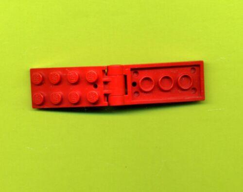Lego--3149c01-Klappscharnier--Kupplung--Gelenk--2 x 5// 2 x 4- Rot