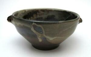 AUSTRALIAN-POTTERY-BOWL-SIGNED-COOTCH-MEMMOTT-EARTHY-HANDCRAFTED-HARRY