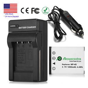 1200mAh-NP-45A-Battery-Charger-For-Fujifilm-FinePix-XP10-XP60-J10-J20-J100-Z31