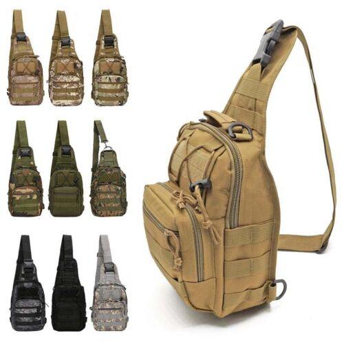 Men/'s Molle Outdoor Tactical Sling Chest Bag Assault Pack Shoulder Messenger Bag