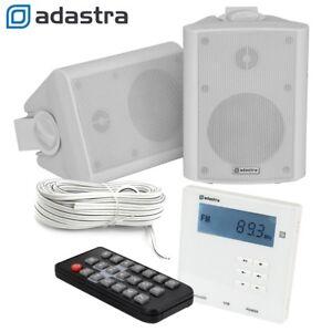 wand usb sd bluetooth verst rker mit radio. Black Bedroom Furniture Sets. Home Design Ideas