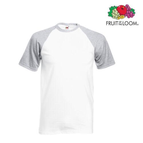 Baseballcap met Wit Kleur Lot 50 Heren Grijs korte mouw Fotl Hqn6w5tx1B