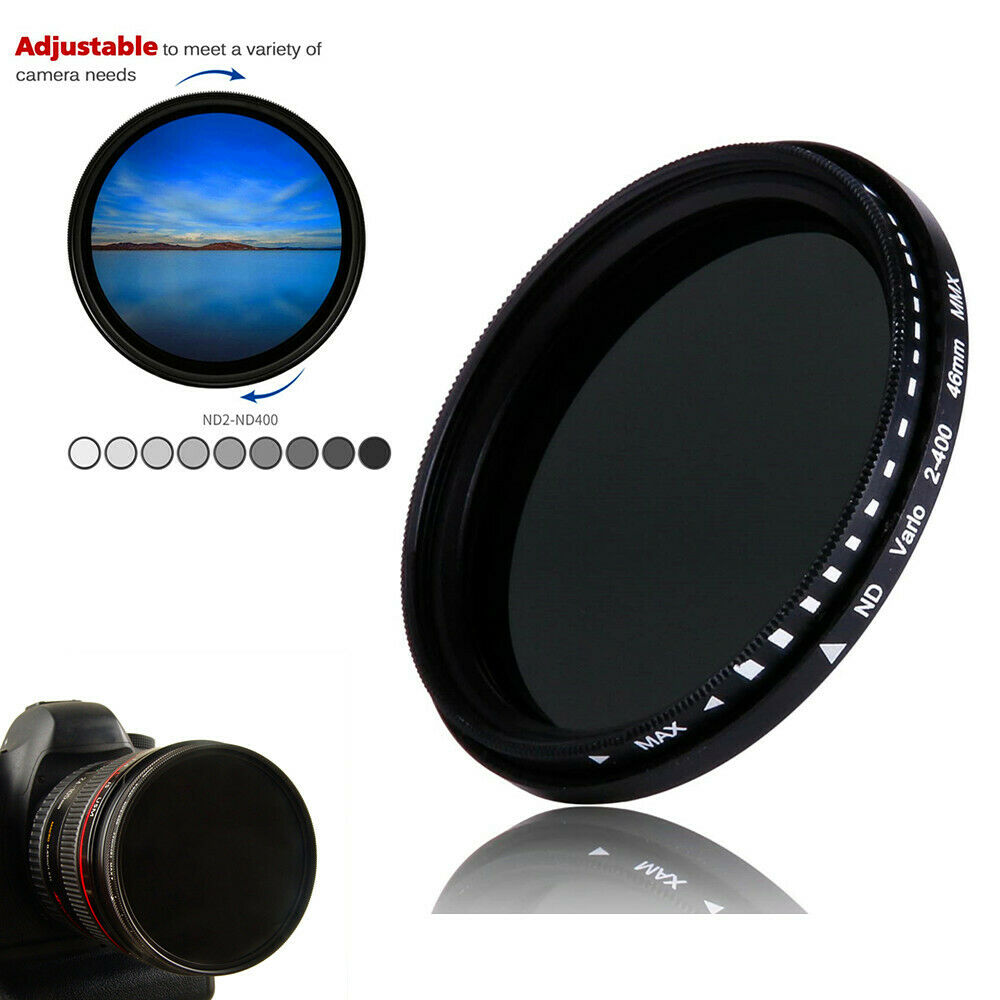 Gadget Place ND2 to ND400 Variable Neutral Density Filter for Olympus M.Zuiko Digital 17mm 1:1.8