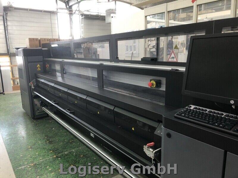 Bild 3 - HP Latex 3200 Plotter Druckmaschine Großraumdrucker Industriedrucker Latex Druck
