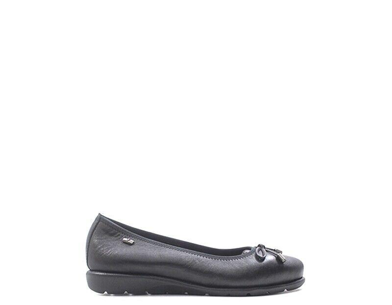 Schuhe VALLEGrün Frau schwarz Naturleder 36154-NE