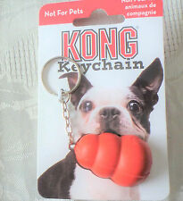 New Dog Lovers Miniature Kong Toy Keychain Key Ring  Cute But Not for Pets