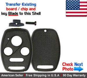 Shell 1x New Replacement Keyless Key Fob For Honda /& Acura Case Only