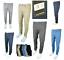 Mens-Denim-Culture-Skinny-Slim-Fit-Stretch-Chino-Pants-Comfy-Casual-Trousers-NEW thumbnail 1