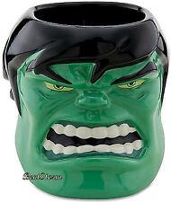Marvel Avengers 3-D  Incredible Hulk Sculptured  Ceramic Coffee Mug Disney Store