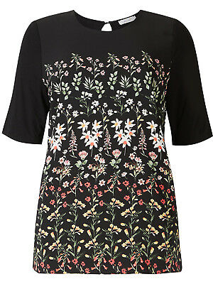 Ladies New Ex George Floral Print Blouse Size  10 12 14 18  20