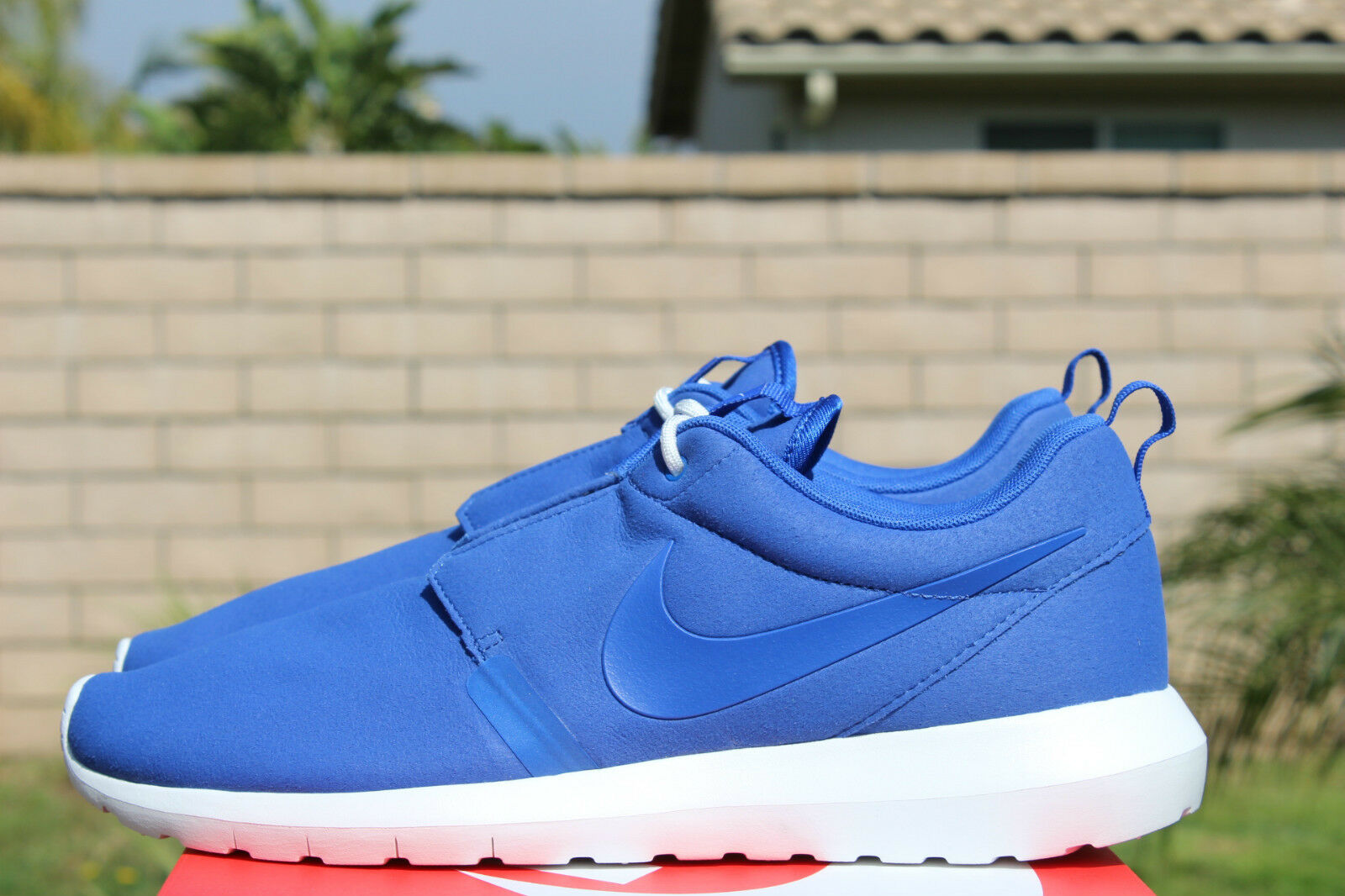 NIKE ROSHERUN NM 11.5 NATURAL MOTION ROYAL BLUE SUMMIT WHITE ROSHE 631749 441 Scarpe classiche da uomo