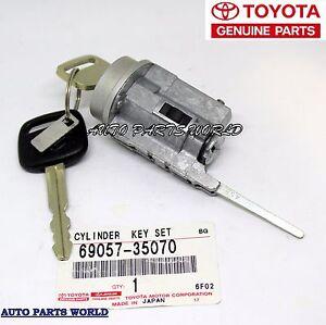 genuine toyota ignition switch lock cylinder and key w  o toyota tacoma ignition switch connector rod toyota tacoma ignition switch won't turn off