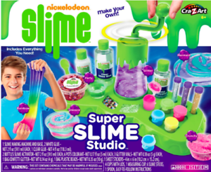 Ultimate Scented Glitter Slime Studio Fun Arts DIY Activities Ideal Kids Gift
