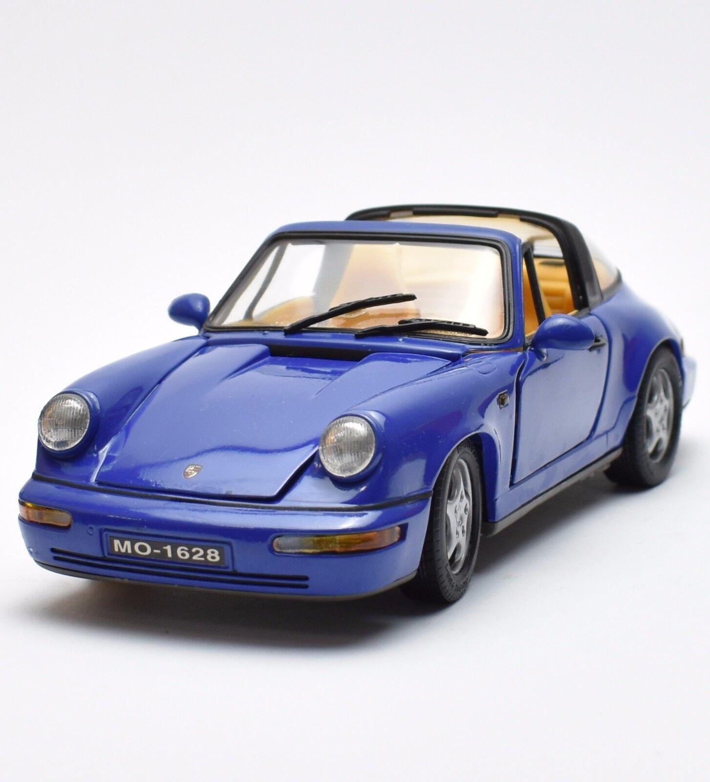Anson Klassiker Porsche 911 Carrera 2 targa Sportwagen in blau, 1 18, OVP, K019  | Günstig