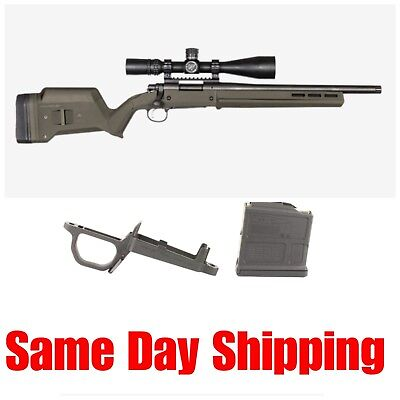 Magpul Hunter Short Action Black Stock w//Mag Well /& 5rd Mag For Remington 700