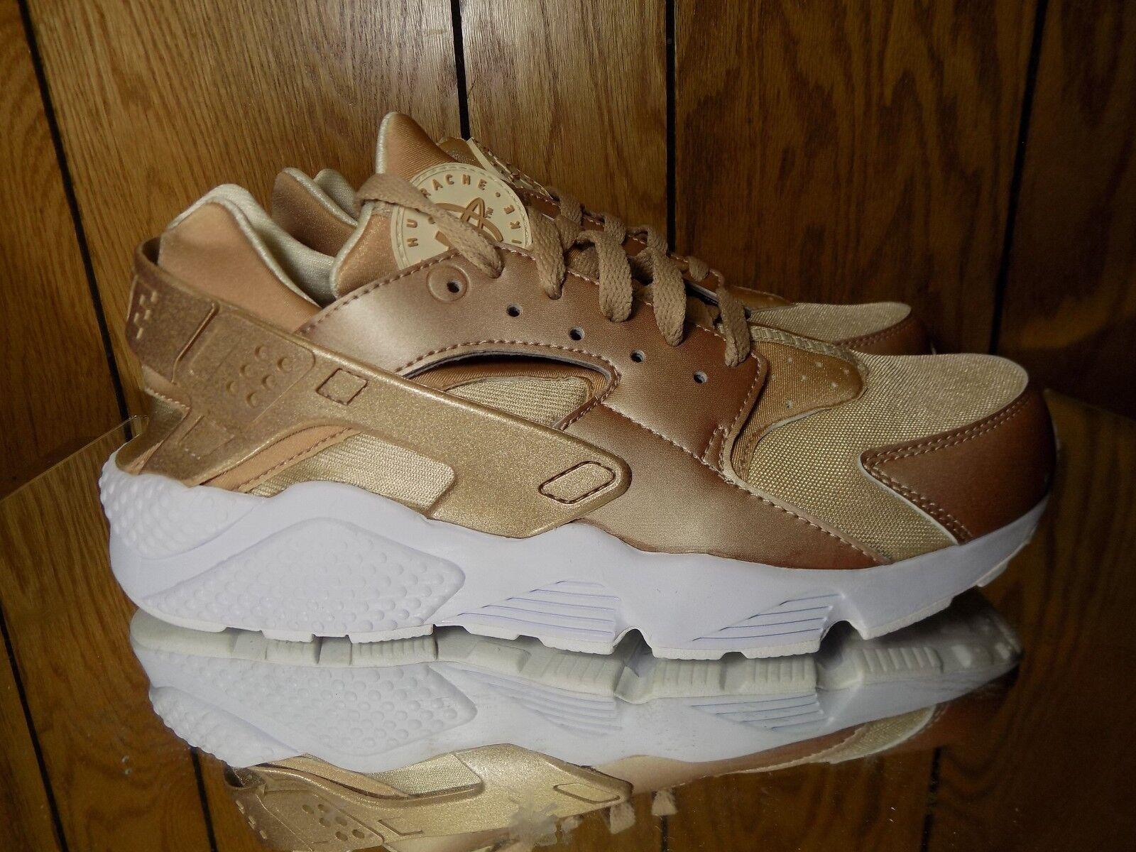 Nike Air Huarache Run Running/Gold Leaf/White Sz 11 Price reduction Men