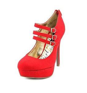 Faux Materiale 636202000588 7 Rosso Scarpe Kristen Janes Ragazza Mary Suede 5m HEECgwq