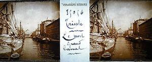 Fotografia-Trieste-Italia-el-puerto-de-la-Grande-Canal-c1910-Canal-Gran-Italia