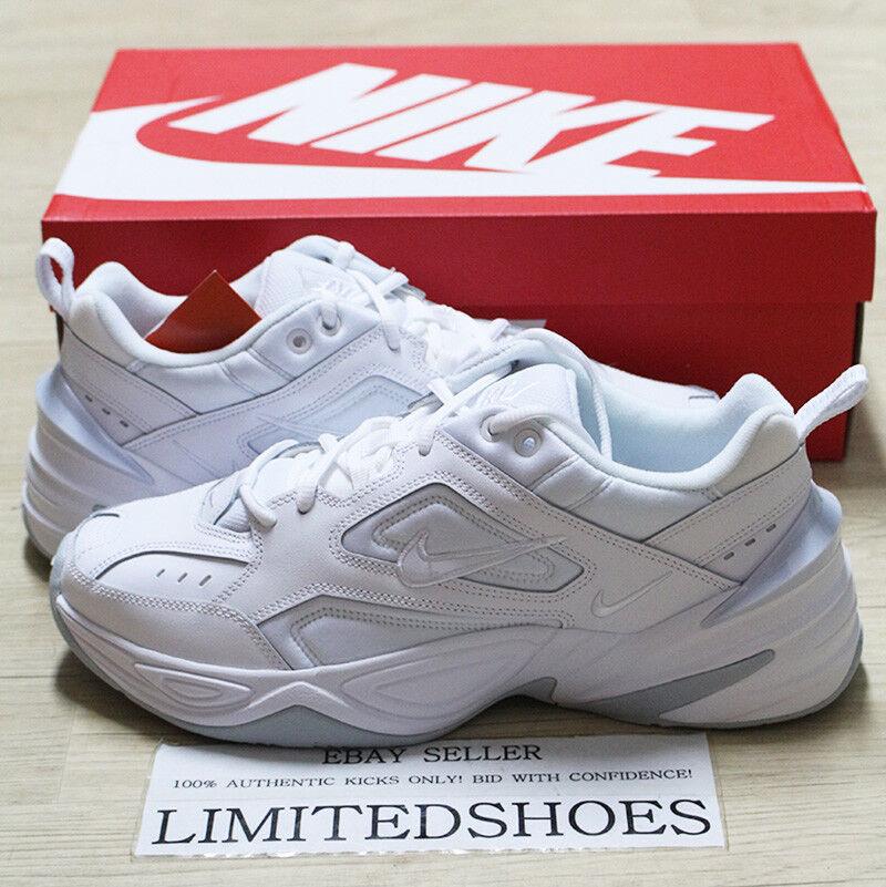 W NIKE WMNS M2K TEKNO TRIPLE WHITE PURE PLATINUM AO3108-100 Womens Casual shoes