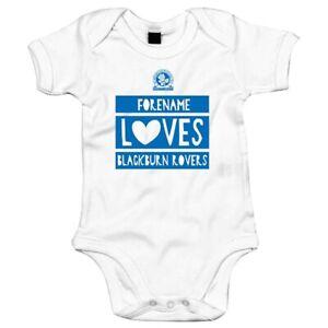 Blackburn Rovers F.c - Personnalisé Body (aime)-afficher Le Titre D'origine Emballage De Marque NomméE