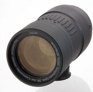 Raynox-3X-Super-Tele-conversion-converter-Lens-37mm-video-camcorder-AF3000-Pro