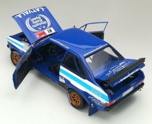 SUNSTAR 4497 4500 Ford Escort RS1800 rally coches Makinen 1980 Latvala 2012 1:18th