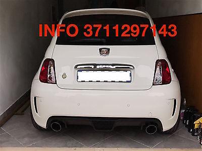 FARI FANALI POSTERIORI FIAT 500 ROSSI CHIARI LEXUS ABARTH CABRIO