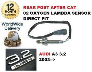 Fur-Audi-A3-8p-1-3-2-V6-Quattro-2003-gt-nach-Versand-nach-Katalysator-02