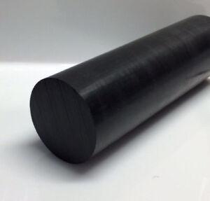 """Delrin//Acetal Rod Black 3//4/"""" diameter 6/"""" long"""